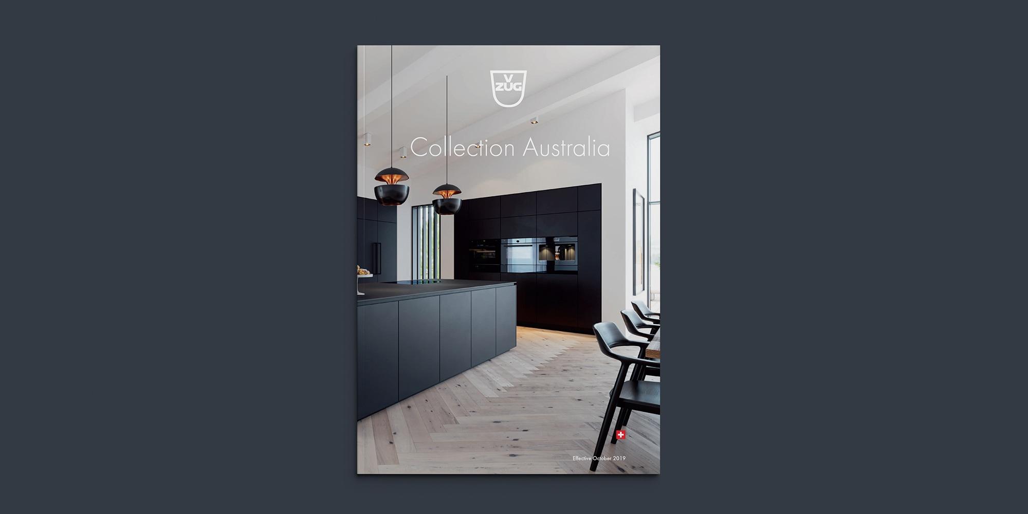 V-ZUG Collection Australia — Brand and Design Studio Melbourne